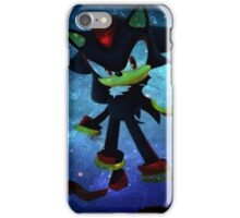 Shadow the Hedgehog iPhone Case/Skin