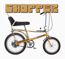 Raleigh Chopper by Tony  Newland