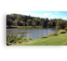 Bagley Pond Canvas Print