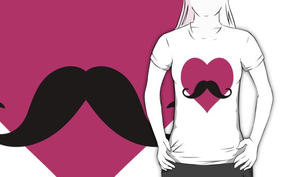 MUSTACHE LOVE by nadievastore