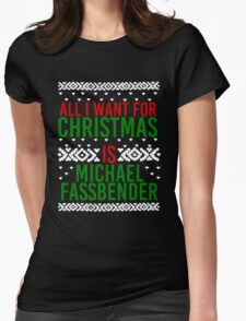 All I Want For Christmas (Michael Fassbender) T-Shirt