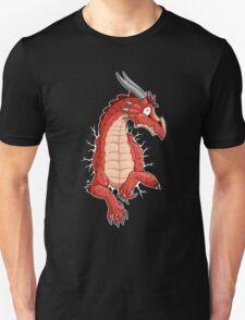 STUCK - Red Dragon Unisex T-Shirt