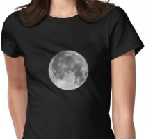 Full Moon Womens Fitted T-Shirt