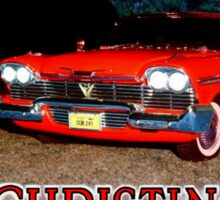 Christine Plymouth Fury 1958  Sticker