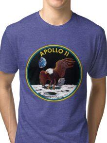 Apollo 11 Mission Logo Tri-blend T-Shirt