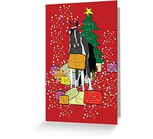 Merry Christmas Horse Greeting Card