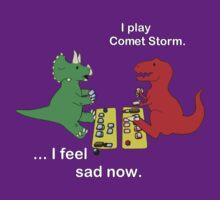 Dino League: Casting Comet Storm by kamenrex