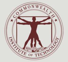 Commonwealth Institute of Technology - Maroon by Miranda Moyer