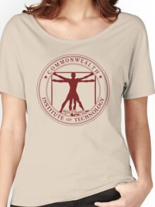 Commonwealth Institute of Technology - Maroon Women's Relaxed Fit T-Shirt
