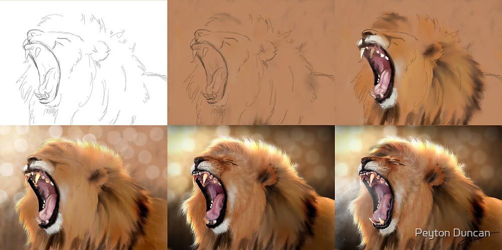 The Royal Yawn- progression by Peyton Duncan