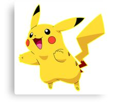 Pikachu can Fly Canvas Print