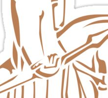 WeHadNoHorns - Lewis chessmen BIG Sticker