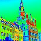 Poznan Town Square Pop Art by j0sh