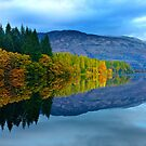 Loch Drunkie, Trossachs by ChristopherSwan