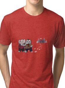 Cozy Cabin: Elephant Edition Tri-blend T-Shirt