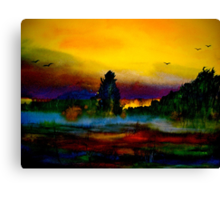 Look.. A New Day. Canvas Print