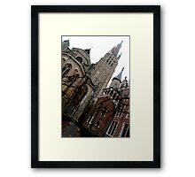 Bruges - Church of Our Lady Framed Print