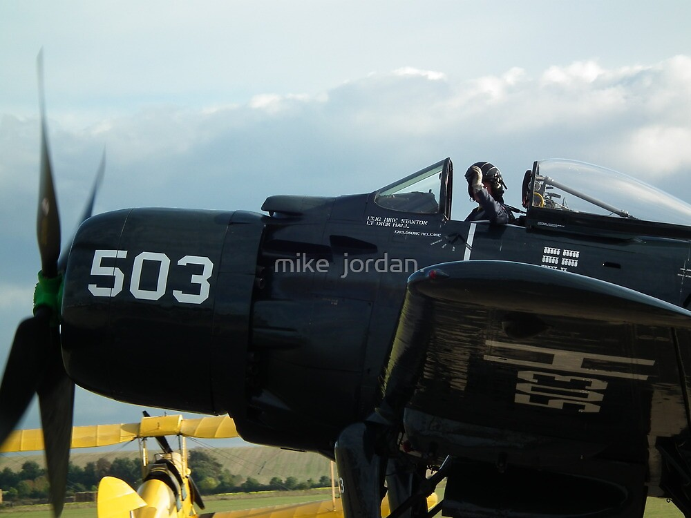 End of Day Salute by mike  jordan.