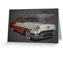 1955 Oldsmobile 88 Greeting Card