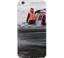 Russian Marines in a speedboat iPhone Case/Skin