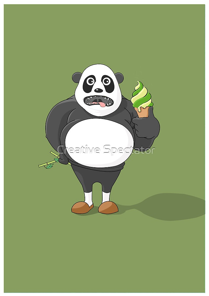 Fat Panda by Creative Spectator