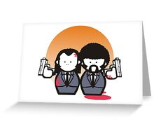 Pulp Fiction 1994 film Greeting Card