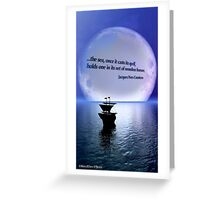 The Sea Casts its Spell Greeting Card