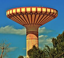 Jumeriah Water Tower by Ian Mitchell