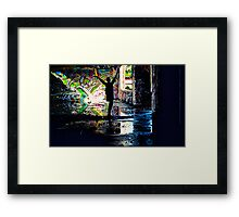 Colors Dance Framed Print