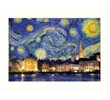 Waterford Starry Night Art Print