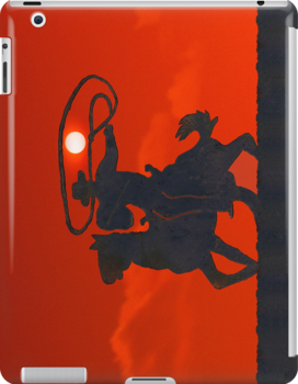 iPad Case.  Roping The Sun.  by Alex Preiss