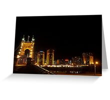 Kentucky Skyline Greeting Card