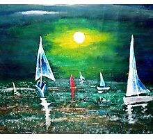 A Grace of Sail Photographic Print