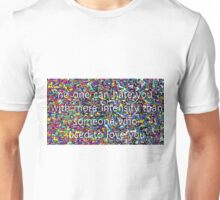 Please hold for your regularly scheduled program Unisex T-Shirt