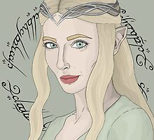 Galadriel, Lady Of Light by eeyebrows