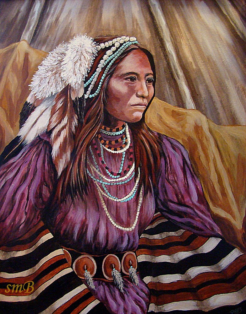 Apache Colors #2 Wrapped In Tradition by Susan Bergstrom
