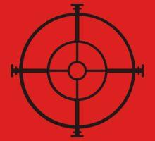 target sniper  killer geek video game by huggymauve