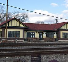 Railraod station, Oregon, IL by jclegge
