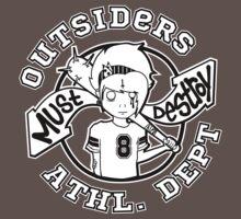 Outsiders - Dark Tee's by MustDestroy
