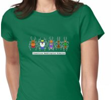 Scooby Bugs Womens Fitted T-Shirt