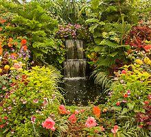 Butchart Gardens Glass House by Marilyn Cornwell