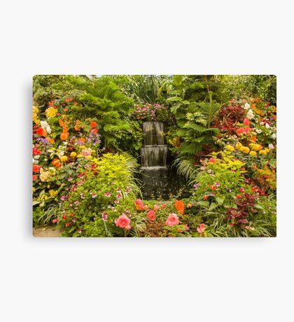 Butchart Gardens Glass House Canvas Print