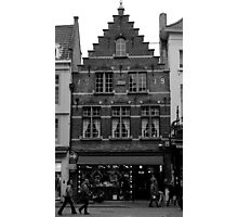 Bruges - The Local Architecture  Photographic Print