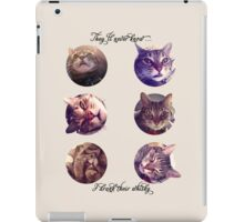 Cats Who Drink iPad Case/Skin