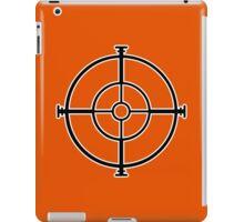 target sniper  killer geek video game iPad Case/Skin