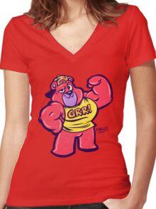 GRR! Women's Fitted V-Neck T-Shirt