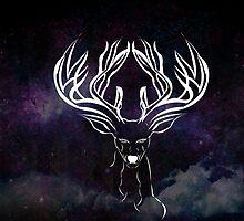 Galaxy Deer by ihector