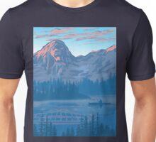 bear country landscape illustration Unisex T-Shirt