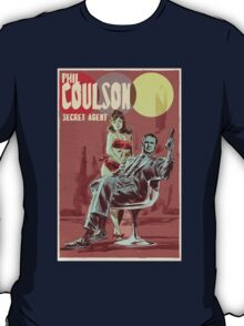 Phil Coulson Secret Agent T-Shirt
