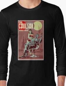 Phil Coulson Secret Agent Long Sleeve T-Shirt